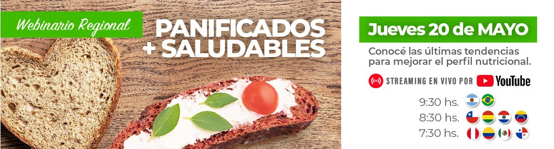 Panificados + Saludables